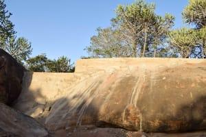The Water Project: Ikuusya Community -  Sand Dam Curing