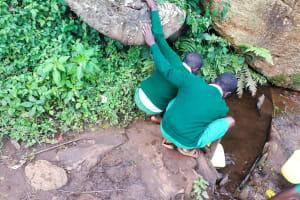 The Water Project: Bojonge Primary School -  Fetching Water