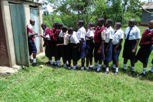 The Water Project: Imanga Secondary School -  Girls Latrines