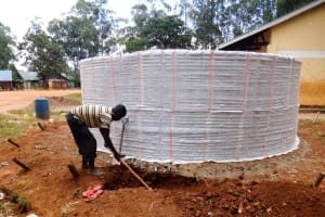 The Water Project: Shihalia Primary School -  Construction