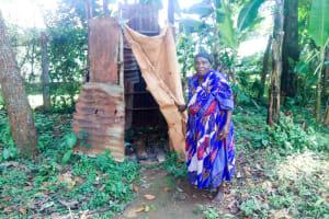 The Water Project: Shitsuvio Community, Shihevi Spring -  Latrine Example