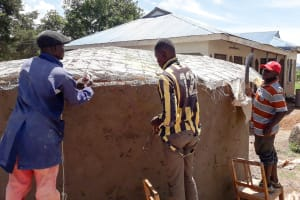The Water Project: Kapsotik Primary School -  Dome Construction
