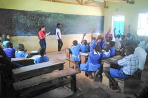 The Water Project: Sabane Primary School -  Training