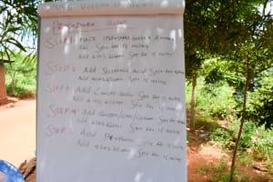 The Water Project: Syatu Community A -  Soap Recipe