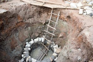 The Water Project: Uthunga Community A -  Well Construction