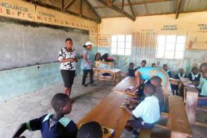 The Water Project: Mukunyuku RC Primary School -  Trainer Emma