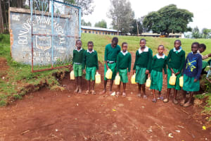 The Water Project: Bojonge Primary School -  Students At The Gate