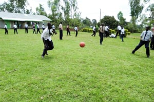 The Water Project: Imanga Secondary School -  Playing Soccer