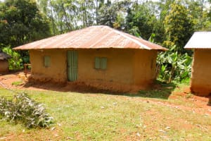 The Water Project: Lukova Community, Wasike Spring -  A Typical Household