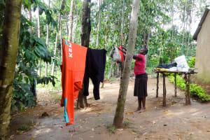 The Water Project: Emulakha Community, Nalianya Spring -  Doing Laundry