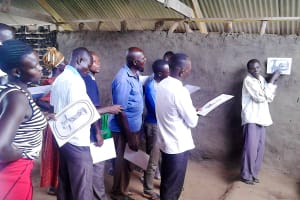 The Water Project: Nyakarongo Center Community -  Hygiene Training