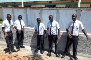 The Water Project: Precious School Kapsambo Secondary -  New Latrines