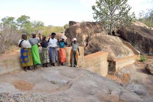 The Water Project: Ikuusya Community -  Finished Sand Dam