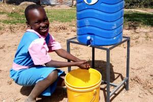 The Water Project: Kapsotik Primary School -  Handwashing Station