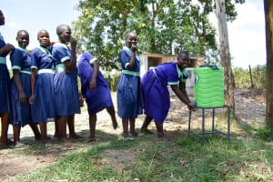 The Water Project: Mukunyuku RC Primary School -  Handwashing Stations