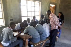 The Water Project: St. John Cheptech Secondary School -  Training
