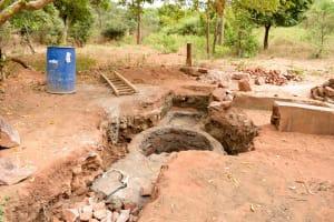 The Water Project: Syatu Community A -  Lining Progress