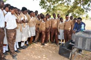 The Water Project: Kithoni Secondary School -  Handwashing Training