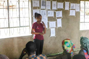 The Water Project: Bukhanga Community, Indangasi Spring -  Trainer Betty