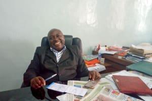 The Water Project: Kaimosi Demonstration Secondary School -  Principal Patrick Amalemba