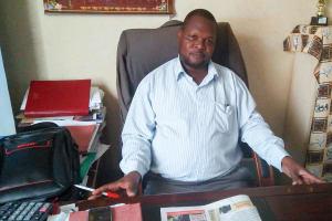 The Water Project: Lwanda Secondary School -  John Serete