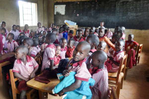 The Water Project: Irobo Primary School -  Students In Class