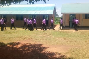 The Water Project: Namanja Secondary School -  Students Going Back To Class
