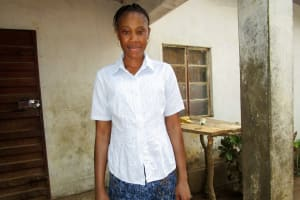 The Water Project: Tulun Community, Hope Assembly of God School and Church -  Rebecca Kamara
