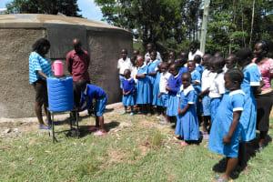 The Water Project: Sabane Primary School -  Handwashing Training