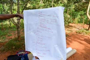 The Water Project: Masola Community A -  Training
