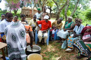 The Water Project: Karuli Community D -  Making Soap