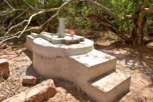 The Water Project: Syatu Community A -  Drying Platform