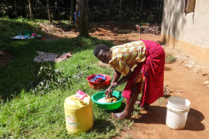 The Water Project: Emulakha Community, Nalianya Spring -  Washing