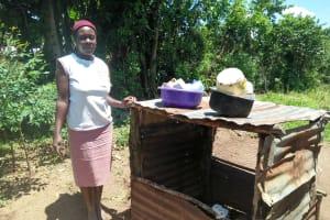 The Water Project: Mukoko Community, Mukoko Spring -  Peninah Khanaka