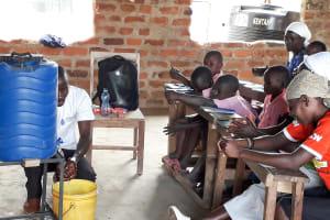 The Water Project: Kapsotik Primary School -  Handwashing Training