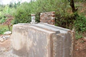 The Water Project: Masola Community A -  Well Construction Progress