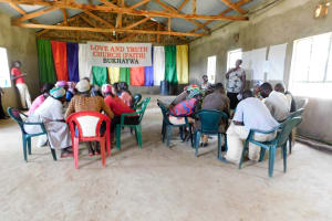 The Water Project: Bukhanga Community, Indangasi Spring -  Group Discussions