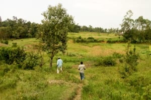 The Water Project: Musango Community, Ndalusia Spring -  Community Landscape