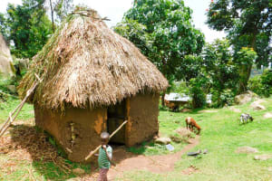 The Water Project: Ngeny Barak Community, Ngeny Barak Spring -  Household