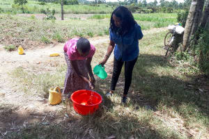 The Water Project: Luyeshe Community, Matolo Spring -  Handwashing Training