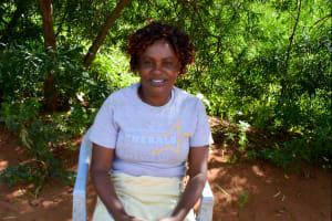 The Water Project: Syatu Community A -  Sarah Muthiani