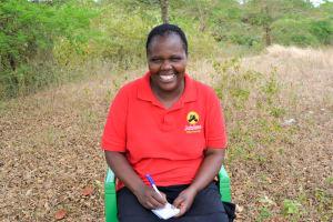 The Water Project: Uthunga Community A -  Bernedatta Mukei Kioko