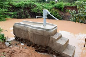 The Water Project: Uthunga Community A -  Finished Well