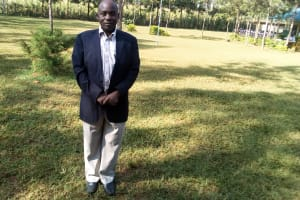 The Water Project: Ebubere Mixed Secondary School -  Principal Elly Onyango