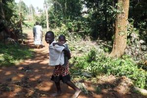 The Water Project: Emulakha Community, Nalianya Spring -  Community Children