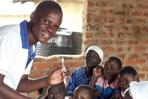 The Water Project: Kapsotik Primary School -  Dental Hygiene Training
