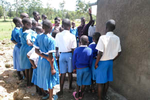 The Water Project: Sabane Primary School -  Tank Care Training
