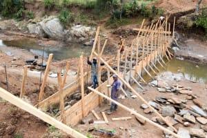 The Water Project: Kala Community -  Sand Dam Construction