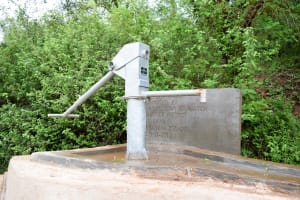 The Water Project: Masola Community A -  Finished Well