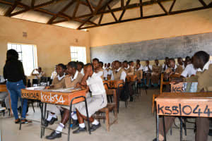 The Water Project: Kithoni Secondary School -  Training